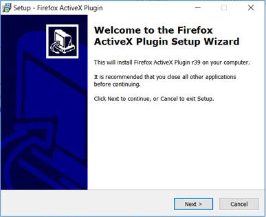 ActiveX-besturingselementen voor Mozilla Firefox