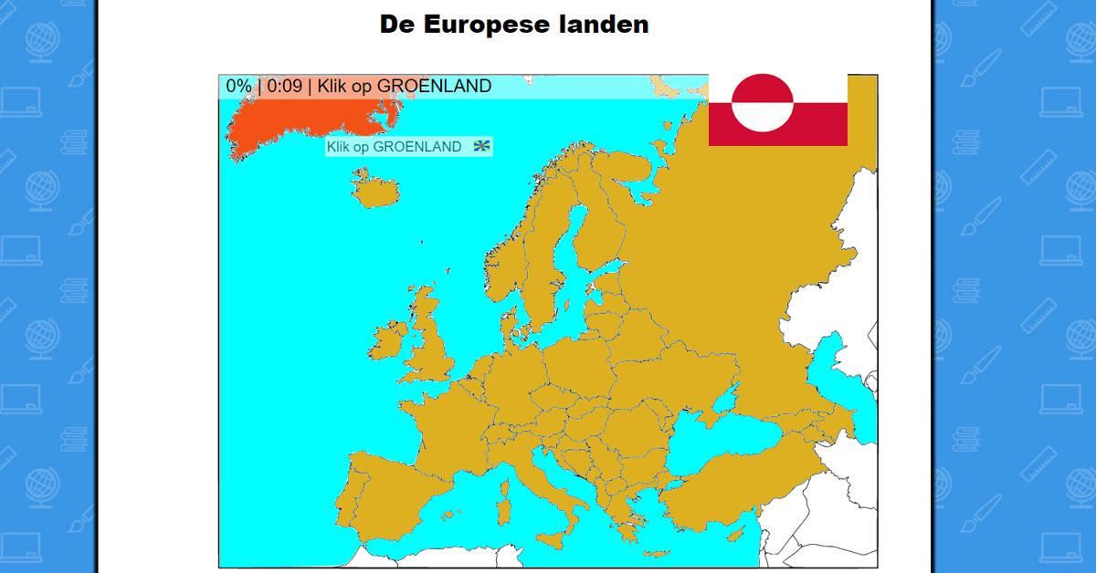Europese Landen Oefenen